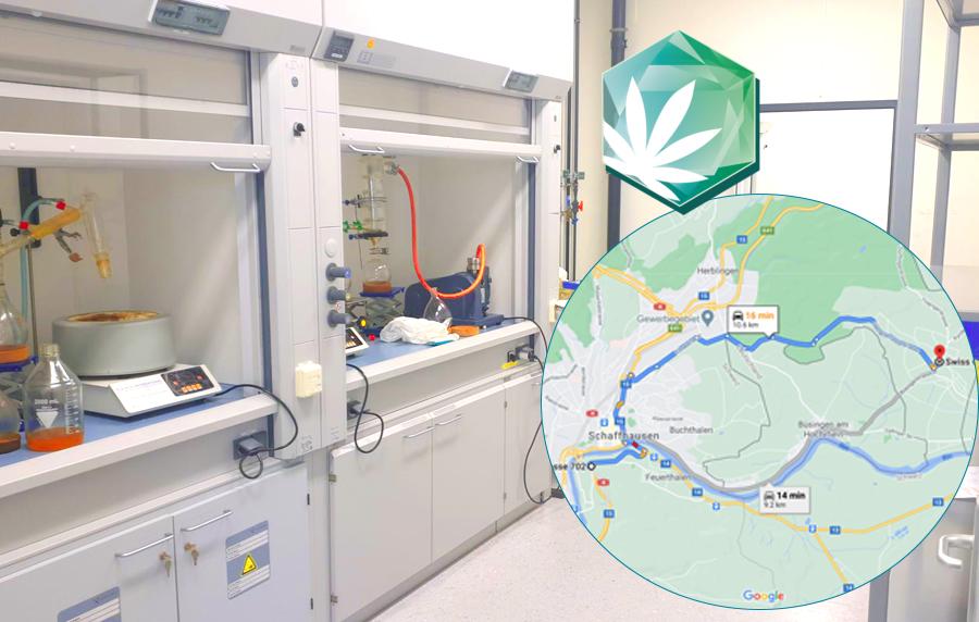 Laboratorio de extracción - nueva dirección